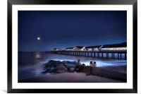 Southwold at Night, Framed Mounted Print