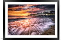 Southwold Fire, Framed Mounted Print