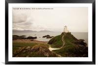 Tŵr Mawr Lighthouse, Framed Mounted Print