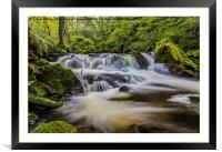 Golitha Falls, Framed Mounted Print