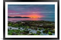 Before The Dawn, Framed Mounted Print