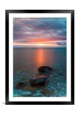 Touched By The Light, Framed Mounted Print