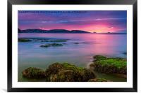 A New Dawn., Framed Mounted Print
