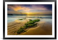 Golden Sands., Framed Mounted Print