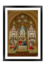 Above the Alter, Framed Mounted Print