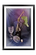 Party time, Framed Mounted Print