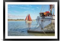Stern view, Framed Mounted Print