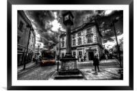 Final Destination : Yeovil , Framed Mounted Print