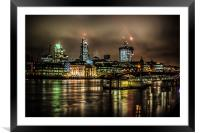 City AM, Framed Mounted Print