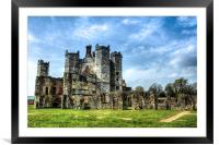 titchfield abbey ruin, Framed Mounted Print