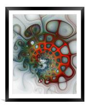 Convolutions, Framed Mounted Print