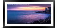St Ives Sunrise Cornwall, Framed Mounted Print