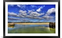 Leaving Padstow Harbour, Framed Mounted Print