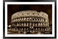 Colosseum, Framed Mounted Print