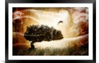 The magic tree, Framed Mounted Print