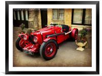 Rare Aston Martin., Framed Mounted Print