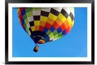 Up, Up and Away, Framed Mounted Print