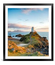 The Anglesey Coast, Framed Mounted Print
