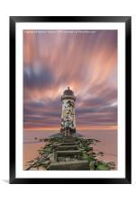 Deserted Lighthouse, Framed Mounted Print