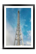 Glasgow Observation Tower, Framed Mounted Print