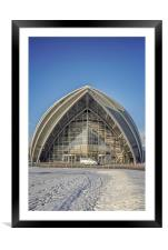Glasgow Scotland Armadillo, Framed Mounted Print