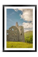 Kilchurn Castle Ruin, Framed Mounted Print