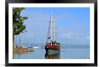 Pirate Ship, Framed Mounted Print