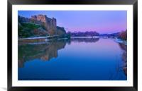 Pembroke Castle, Framed Mounted Print