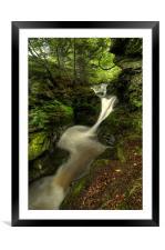 Merlins Pool, Framed Mounted Print