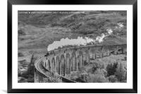 The Jacobite Steam Train., Framed Mounted Print