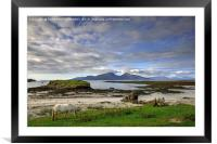 Isle of Rum, Small Isles, Scotland, Framed Mounted Print