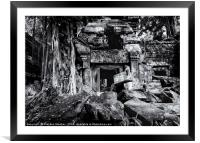 Temple Fixer Upper, Framed Mounted Print