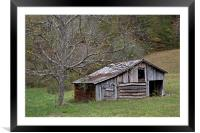 Tennessee Old Barn, Framed Mounted Print