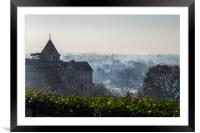 Misty Morning In Richmond, Framed Mounted Print