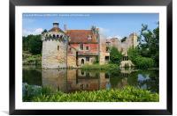 Scotney Castle, Kent, Framed Mounted Print