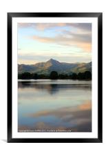 Porthmadog, Wales, Framed Mounted Print