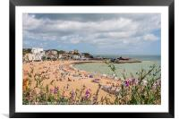 View over Broadstairs, Framed Mounted Print