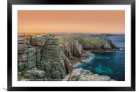 Lands End at Dawn, Framed Mounted Print