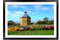 The old dovecot at the 14th century  Augustinian p, Framed Mounted Print