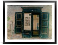 The Doorway to Memories, Framed Mounted Print