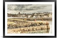 Portsoy Harbour, Framed Mounted Print