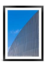 Curve of the Airshard, Framed Mounted Print