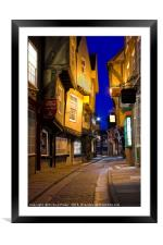 The Shambles, York, Framed Mounted Print