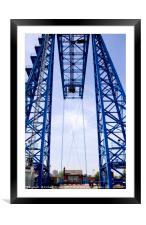 Tees Transporter Bridge, Framed Mounted Print