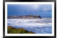 Scarborough South Bay, Framed Mounted Print