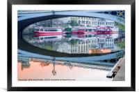 Lendal Bridge and the River Ouse, York, Framed Mounted Print