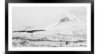 Rannoch Moor, Framed Mounted Print