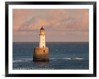 Rattray Head Lighthouse, Framed Mounted Print