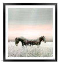 Separation Anxiety, Framed Mounted Print