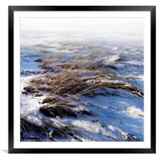 New Snow, Framed Mounted Print